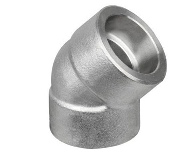 Stainless Steel ASTM A182 S/W 45 Degree Elbow