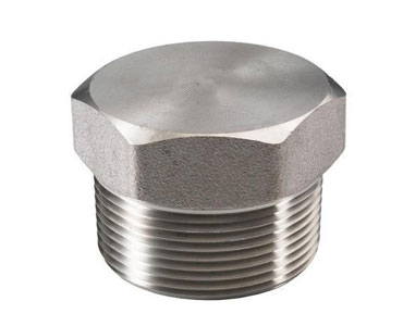 ASTM A182 Duplex Steel Forged Threaded / Screwed Hex Plug