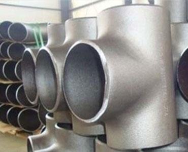 ASTM A815 Super Duplex Steel Buttweld Tee