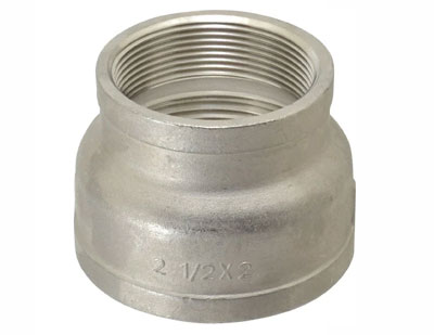 Stainless Steel Threaded Eccentric Reducer