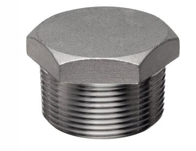 ASTM A182 F304 Threaded / Screwed Hex Plug