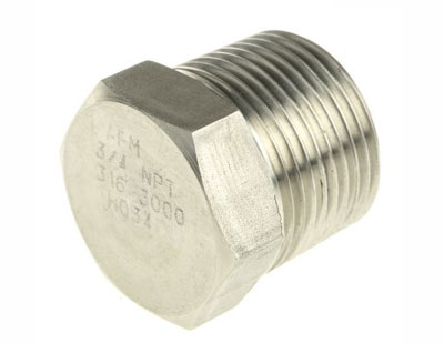 Stainless Steel Threaded Plug