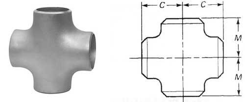 Pipe Cross Dimensions