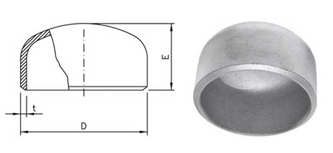 Buttweld Pipe End Dimensions