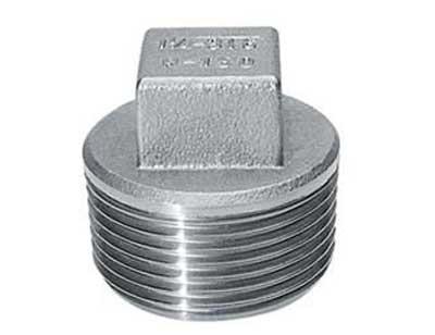 ASME B16 11 Threaded Square Plug, Forged Square Head Plug Manufacturer