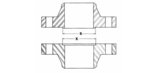 Male and Female Flange Dimensions